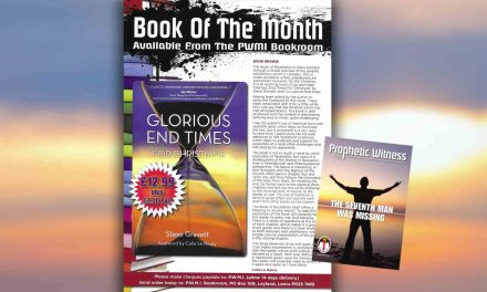 'Glorious End Times For Christians' is featured as 'Book of the Month'