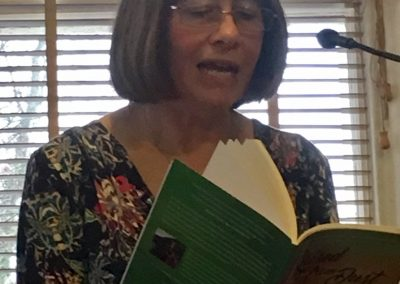 Reading at Book Launch