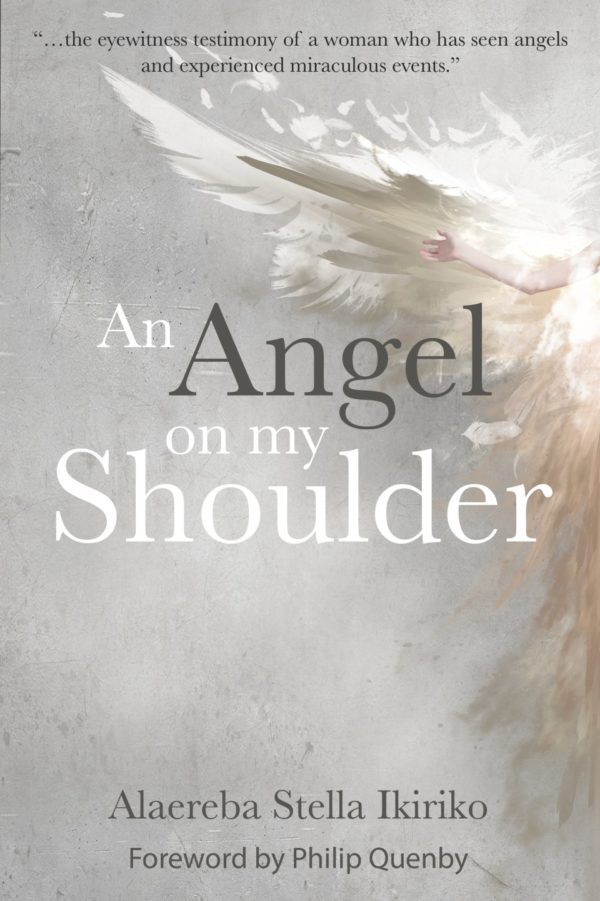 An angel on my shoulder