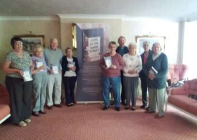 Book launch at Beechwood House