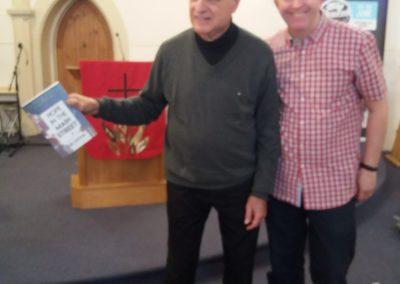 With Tony Campolo