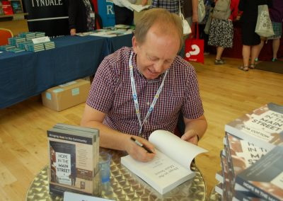 Rob Cotton book signing
