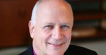 Bishop David James hosts event celebrating Vicky's journey