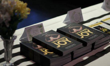 Pastor discusses recent book, Unjustifed Joy, in sermon