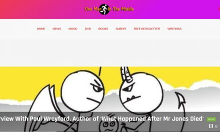 Author interviewed by popular One Man in the Middle blog