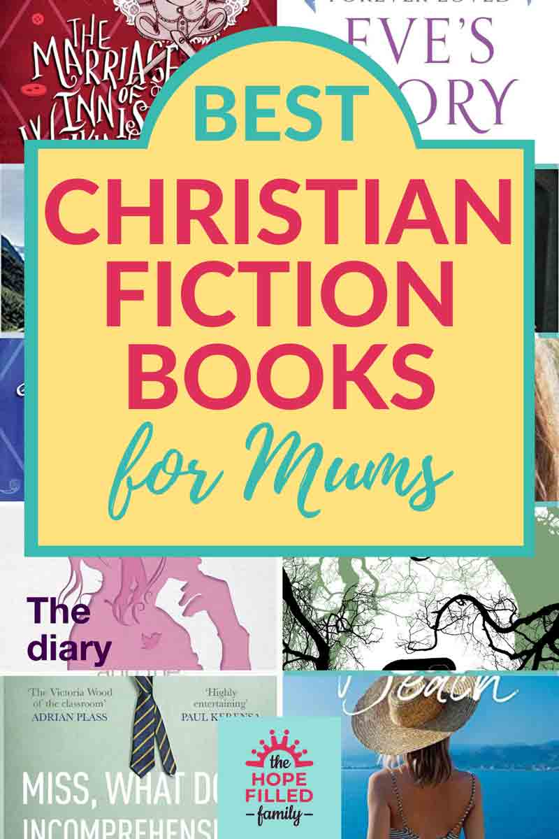 Best Christian fiction books for mums article