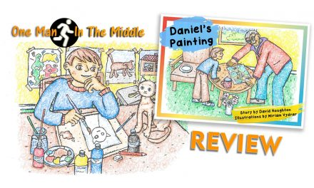 One Man in the Middle Reviews children's book, 'Daniel's Painting'