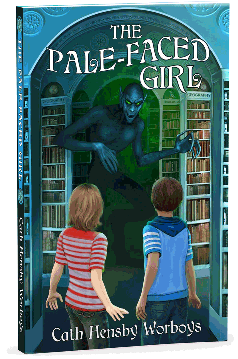 The Pale-Faced Girl Book Cover
