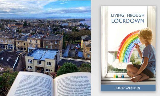 Preben Andersen prepares for the upcoming Clevedon Literary Festival